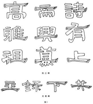 波磔笔是隶书的主要笔法